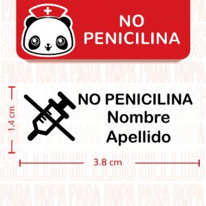 Etiquetas-para-Alergias-NoPenicilina