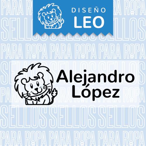 Etiquetas-para-Ropa-de-Ninos-Leo