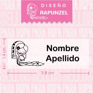 Sellos-para-Marcar-Ropa-Rapunzel