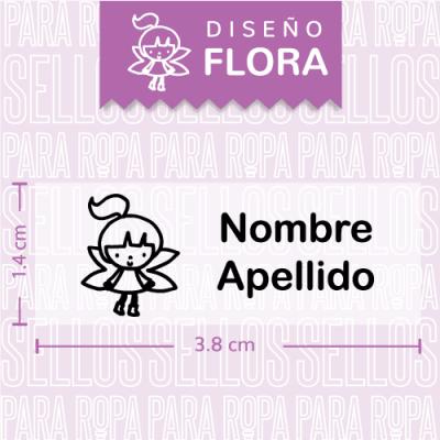 Sellos-para-Ropa-Flora