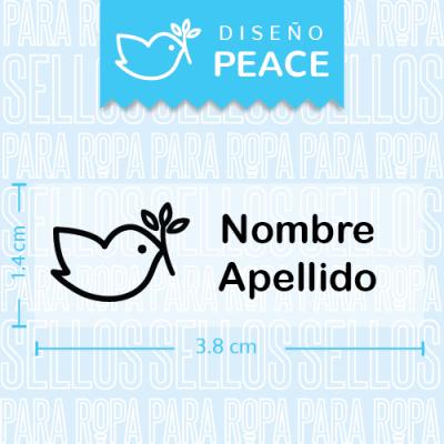 Sellos-para-Ropa-Guarderia-Peace