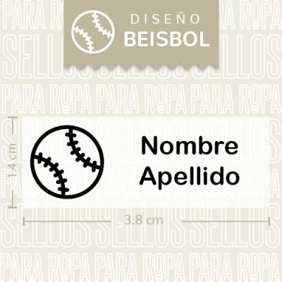 Sellos-para-Ropa-Mine-Beisbol