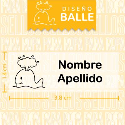 Sellos-para-Ropa-Personalizados-DF-Balle