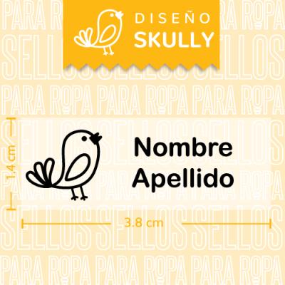 Sellos-para-Ropa-Personalizados-DF-Skully