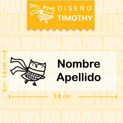 Sellos-para-Ropa-Personalizados-DF-Timothy