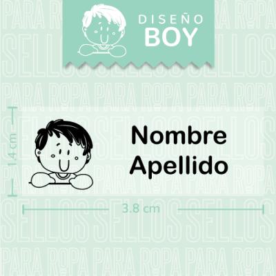 Sellos-para-Ropa-de-Bebe-Boy
