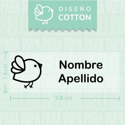 Sellos-para-Ropa-de-Bebe-Cotton