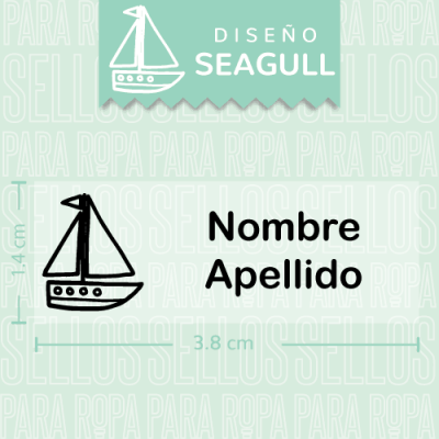 Sellos-para-Ropa-de-Bebe-Seagull