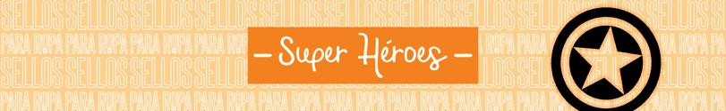 Sellos-para-Ropa-y-Papel-Super-Héroes