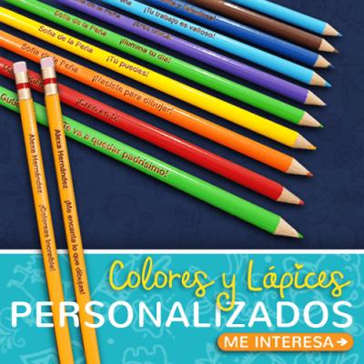 Lápices y Colores Personalizados
