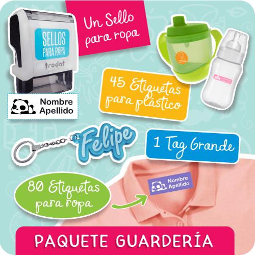 Sellos-Ropa-Paquete-Guardería