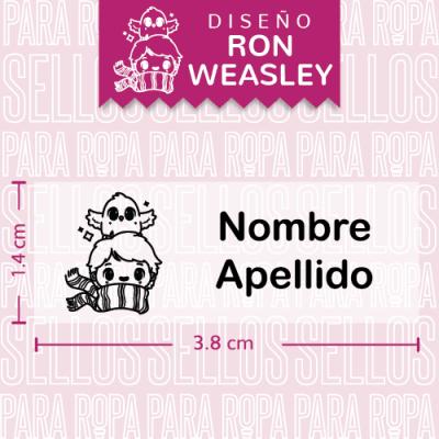etiquetas-para-ropa-harry-potter-ron-weasley