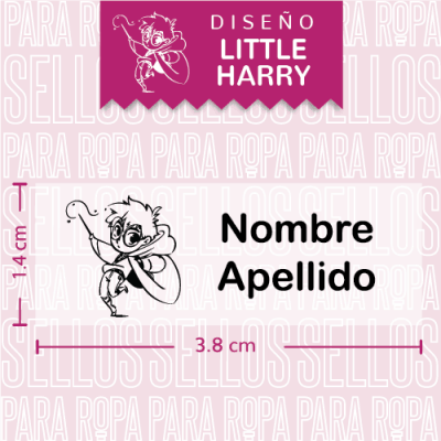 sellos-para-marcar-ropa-harry-potter-little-harry